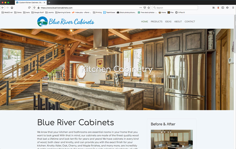 Blue River Cabinets