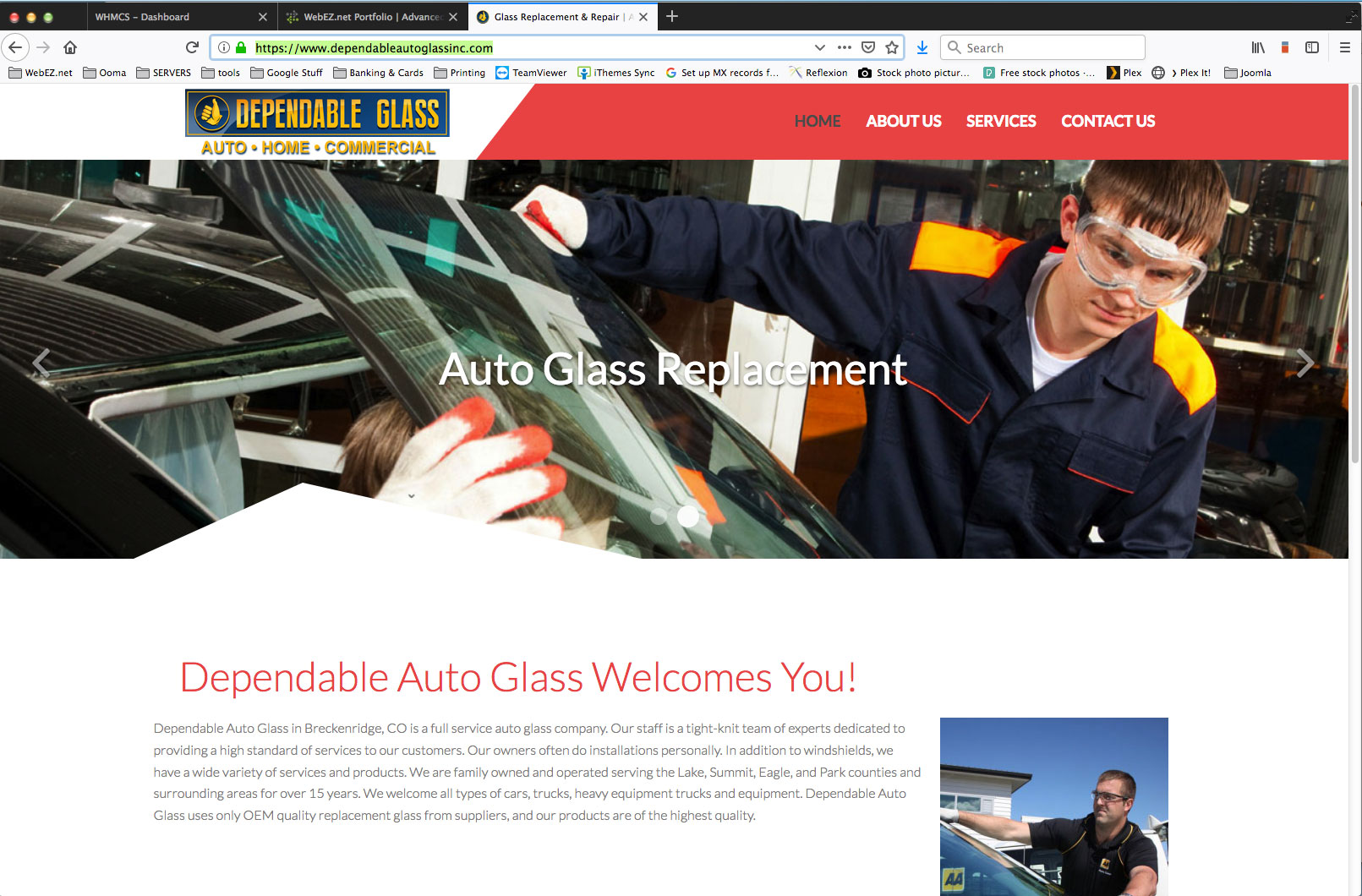 Dependable Auto Glass Inc