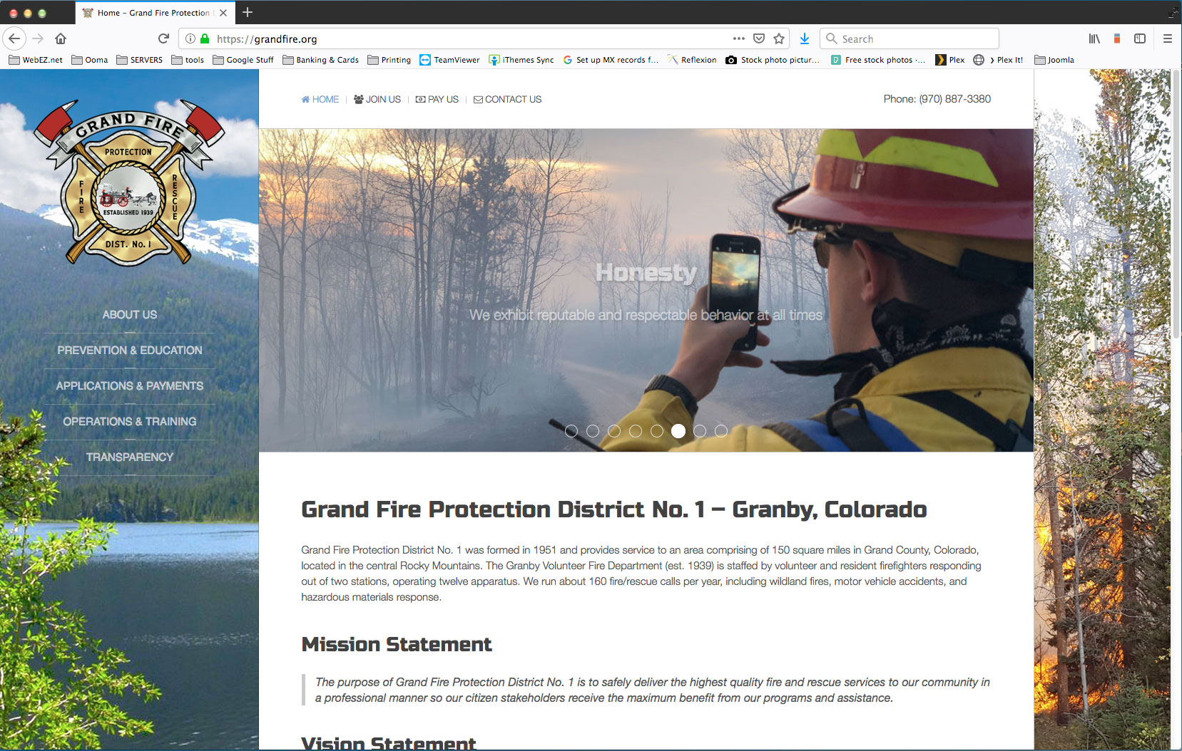 Grand Fire Protection District No. 1