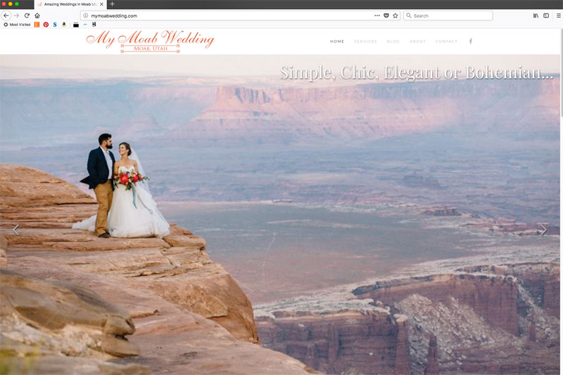 My Moab Wedding
