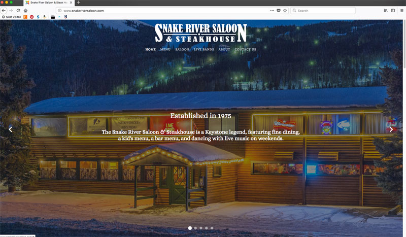 Snake River Saloon & Steakhouse